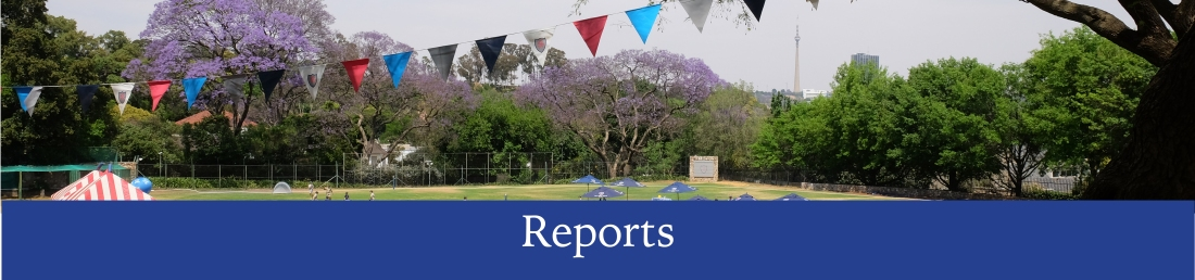 reports banner