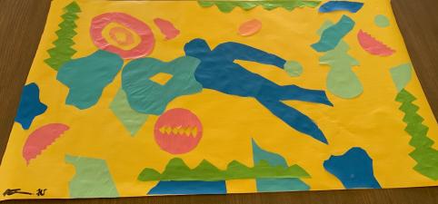 Reza G5 Matisse artwork